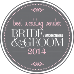 2014 Washingtonian Best Wedding Vendor