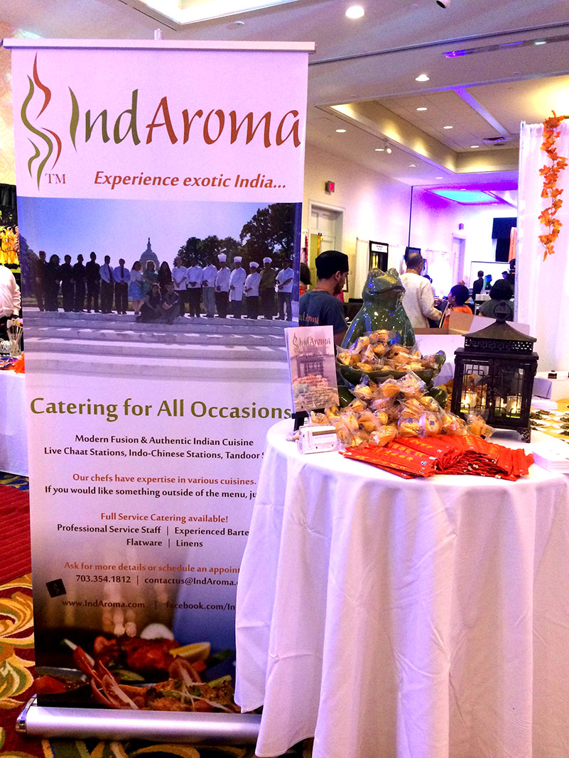 Indian bridal show archives indaroma for Aroma indian cuisine washington dc