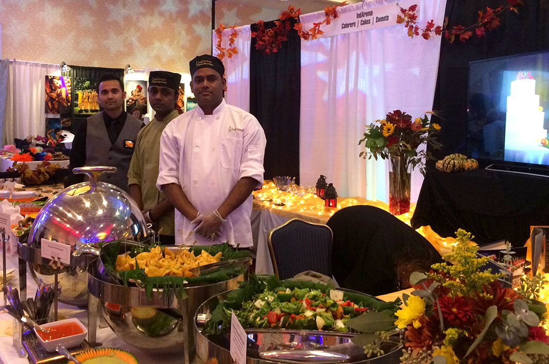 South asian bridal show archives indaroma for Ajays catering cuisine